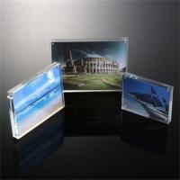 Magnetic Clear Acrylic Photo/Picture Frame Perspex Picture Holder