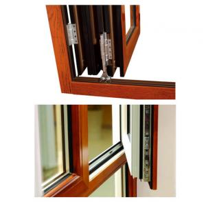 China PVDF Painting Aluminum Extruded Profiles , GB75237-2004 Silding Aluminium Window Extrusions supplier