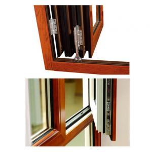 China PVDF Painting Aluminum Extruded Profiles , GB75237-2004 Silding Aluminium Window Extrusions supplier