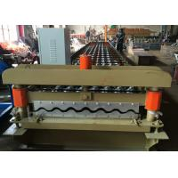 China PLC Control Perforated Roofing Sheet Roll Forming Machine Zinc Metal Sheet on sale
