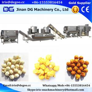 China Made in China Food business continuous hot air popped sweet the popcorn machine production line/making equipment Jinan D on sale