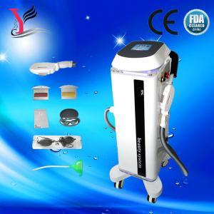 China Machine permanente verticale de beauté d'épilation de chargement initial d'enlèvement de cheveux (lumière intensive d'impulsion) on sale