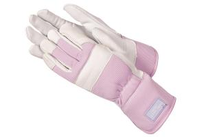 China Lint Cotton Garden Gloves With Waterproof PU on sale