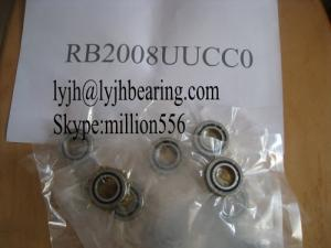 China RB12016UUCC0 Crossed roller bearing 120x150x16mm application for swiveling table machine tool,in stock on sale
