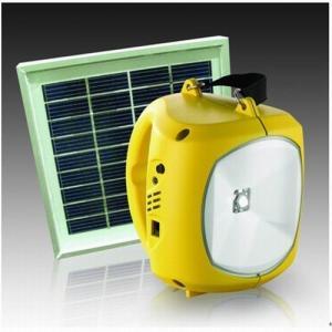China lâmpada de acampamento solar conduzida da lanterna com carregador do telefone celular on sale