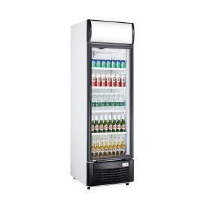 China 268L Single Door Beverage Cooler Refrigerator Aluminium Inner Cabinet on sale