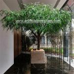 Tabletop Large Artificial Weeping Willow Tree Restaurant Decoration 2.5m Height