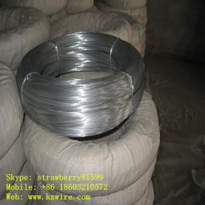 China Big Coil Galvanized Wire With Plastic File Package on sale