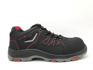 China Vulcanized Outsole Black Work Shoes Shock Resistance For Indoor Clerk on sale