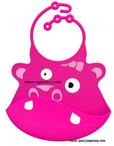 China Adjustable neck Silicone Baby Bib, Custom Silicone Baby Bib on sale
