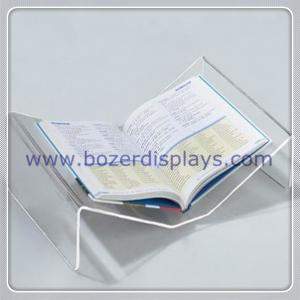 China Crystal Clear Acrylic Dictionary/Book Stand on sale