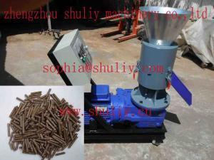China Flat-die pellet press machine(0086-13837171981) on sale