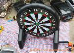 China Inflatable Double Sided Foot Dart Games , Velcro Dart For Club Sports wholesale