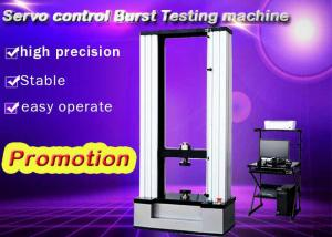 China Servo Control Burst Test Machine , 30KN Platform Tensile Testing Machine on sale
