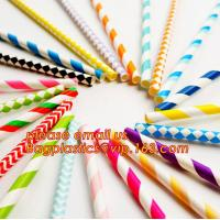 China wholesale party biodegradable cocktail drinking paper straws,Disposable Wrapped India Biodegradable Bulk Paper Straws on sale