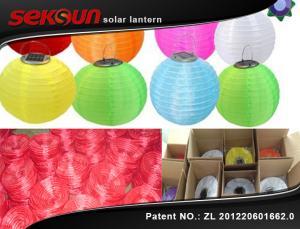 China Waterproof 1.2V 600mah Battery Powered Lantern Lights With 4000 Mcd Light Source on sale
