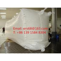20ft,30ft ,40ft WPP Waterproof Dry Bulk Container Liner Bag With fast discharge spout