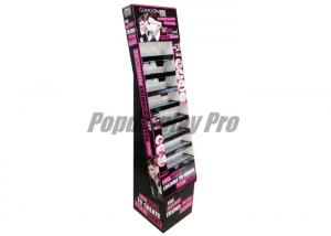 China Floor Standing Power Wing Display For Makeups 15\ Logo Poster on sale