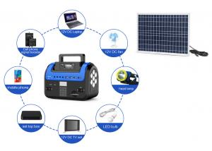 China Home Lighting Payg Solar System  Battery Reversed Connection Protection on sale