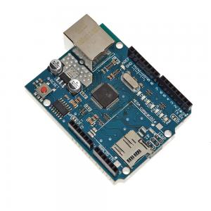 China Ethernet Arduino Shield Board , Arduino Development Board W5100 For UNO MEGA 2560 on sale