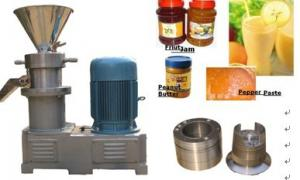 China Small Scale Peanut Butter Machine Peanut Grinder High Efficiency on sale