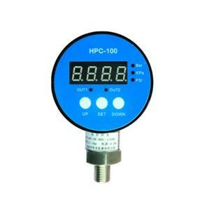 China HPC-100 Digital pressure gauge with RS485,2 relays and 4-20mA  output signal optional on sale