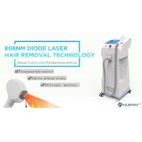 China Most advanced CE approval beauty machine diode laser 808nm hair removal with 10 Germany Laser Bars on sale