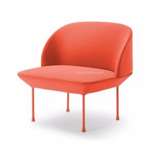 China Modern commercial contour single olso sofa chair living room comfortable leisure chaise lounge chair,color optional. on sale
