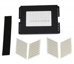 China 12 Position Fiber Optic Joint Enclosure Adhesive Back Fiber Insert Design on sale