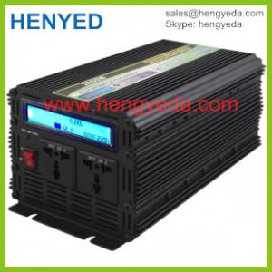 China Dc to ac solar system 2000w power inverter 12v to 220v LCD display on sale