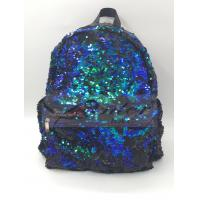 Sequin Backpack, Woman Dazzling Sequin Bag, Reversible Sequins School Backpack for Girl, Lightweight Travel Backpack