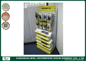 China Steel tube , Wire  Supermarket Shop Display Racks for Keyboard and mouse on sale