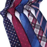 Men Floral Dots Tie Cotton Narrow and Skinny Casual Ties for Men Wedding Party
