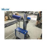 20 W Wisely Portable Fiber Laser Marking Machine With Ezcad , Fiber Laser Printer