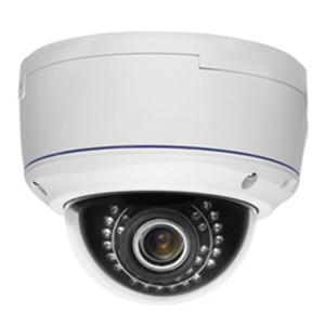 China 3.0Mp Water-Proof & Vandal-Proof POE IR WDR Network Dome Camera on sale