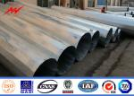 China Double Circuit Transmission Line Steel Utility Pole With 345 Mpa Yield Strength wholesale