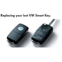 volkswagen replacement transponder folding keys for high rigidity