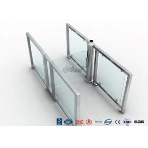 China Visitor Entry Access Control Turnstiles , Handicap Pedestrain Luxury Security Swing Gate on sale