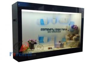China Clear Lcd Monitor Transparent Display Screen , OLED Transparent Digital Signage Display on sale