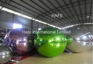 China 3M Mirror Ball Inflatable Lighting Decoration 10ft For 2019 Spring Dress Fashion Show on sale