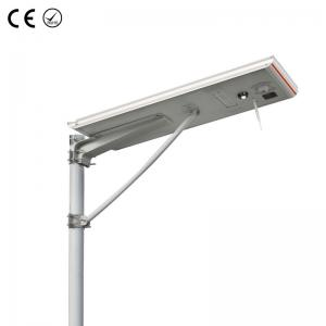 China High Power 100W Integrated Solar Street Light With Outdoor CCTV Camera on sale