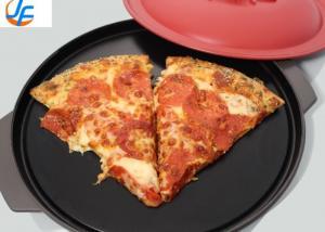 China RK Bakeware China Manufacturer-Thin Crust Pizza Pans Hardcoat Anodized Aluminum on sale