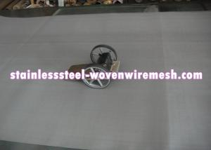China High Toughness Stainless Steel Woven Wire Mesh Roll Width 1 - 1.6m Abrasion Resistance on sale