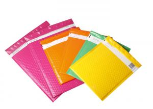 China Durable Shinny BOPP Plastic Bubble Envelopes Glamour Shpping Poly Mailer Bags on sale