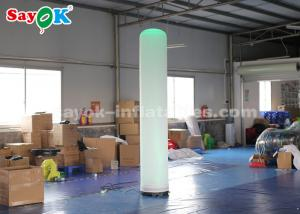 China 2.5m Inflatable Tube Column With Air Blower And Remote Controller For Wedding on sale