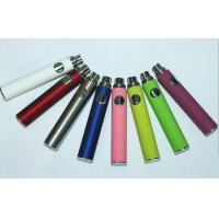 EGO Thread Electronic Cigarette Battery / E Cigarette Atomizer In White / Red Pyrex Tube