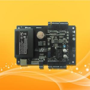 China TCP/IP RS485 Network 1 Door Access Control Panel Board With Software Management on sale