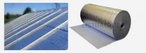 China Waterproof Construction Heat Insulation Foam Aluminium Foil Roof Material 1-1.8m Width on sale