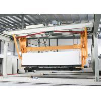 China High Precision AAC Block Machine , AAC Sand Lime Brick Making Machine on sale