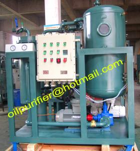 China Gas Turbine Oil Purifier Machine,Turbine Oil Filtration Machine with particle cpunter, Nas 5, explosion proof ,factory on sale